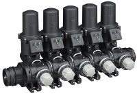Tee Jet 3-way Ball Valve Manifold